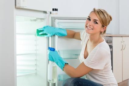 Mini Kühlschrank reinigen