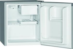 Bomann KB 389 Mini-Kühlschrank / A++ / 51 cm Höhe / 84 kWh/Jahr / 42 Liter Kühlteil / regelbarer Thermostat / Kühlmittel R600a silber - 4