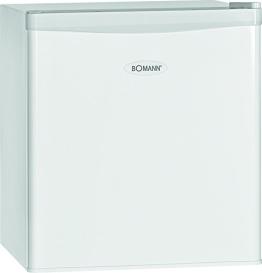 Bomann KB 389 Mini-Kühlschrank / A++ / 51 cm Höhe / 84 kWh/Jahr / regelbarer Thermostat / Kühlmittel R600a / weiß - 1