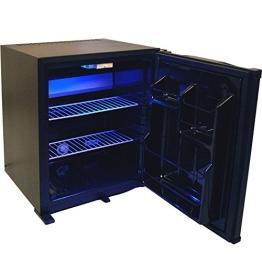 Syntrox Germany MBC-50L-60W 50 Liter Null DB-lautloser Mini Kühlschrank mit Schloss geräuchloser Hotelkühlschrank - 1